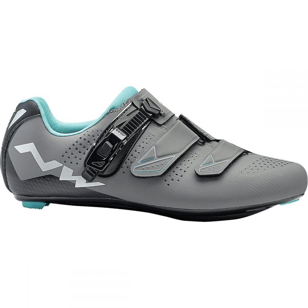 ノースウェーブ レディース 自転車 シューズ・靴【Verve 2 SRS Cycling Shoe】Anthracite/Aqua