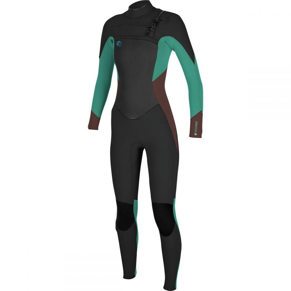 オニール レディース 水着・ビーチウェア ウェットスーツ【O'riginal Fuze 3/2 Taped Wetsuit】Black/Pepper/Capri Breeze