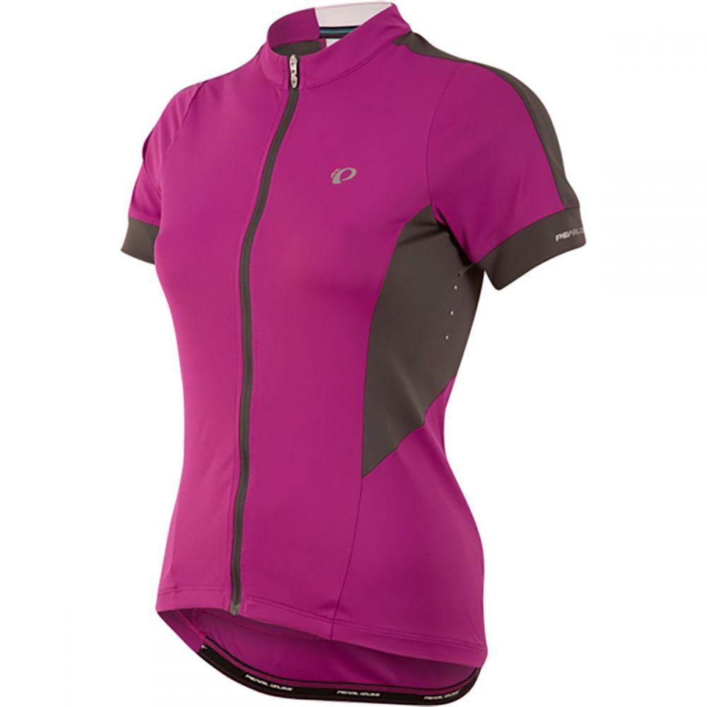 パールイズミ レディース 自転車 トップス【ELITE Pursuit Jersey - Short Sleeve】Purple Wine