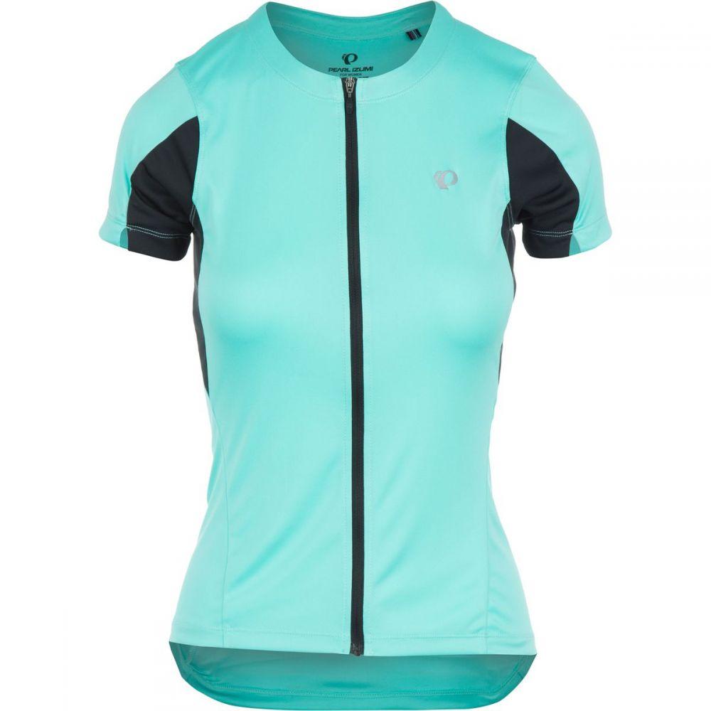 パールイズミ レディース 自転車 トップス【SELECT Jersey - Short Sleeve】Aqua Mint