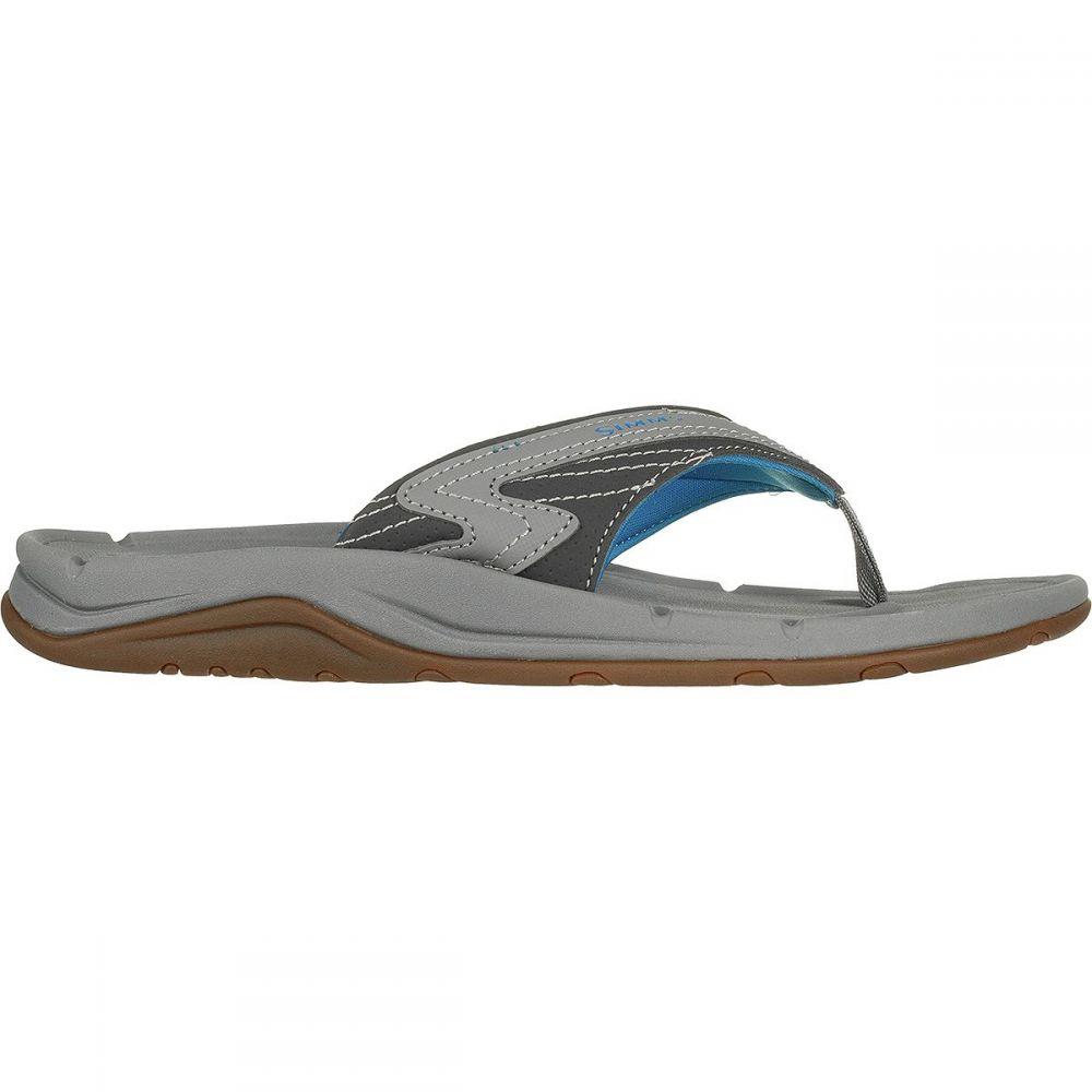 シムズ メンズ 釣り・フィッシング シューズ・靴【Atoll Flip Flop - Wides】Current