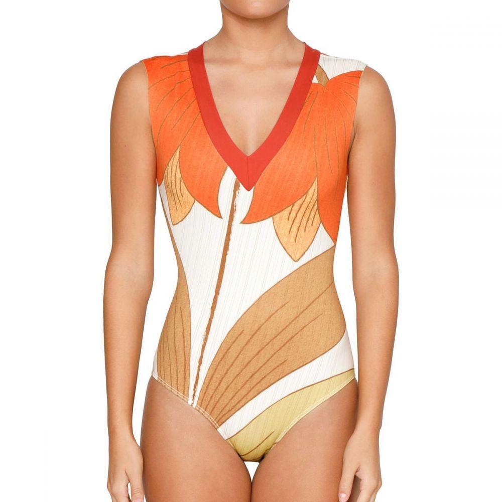 シーアスイムウェア レディース 水着・ビーチウェア ワンピース【Rhea One - Piece Swimsuit】Bell Flower (C-Skin)