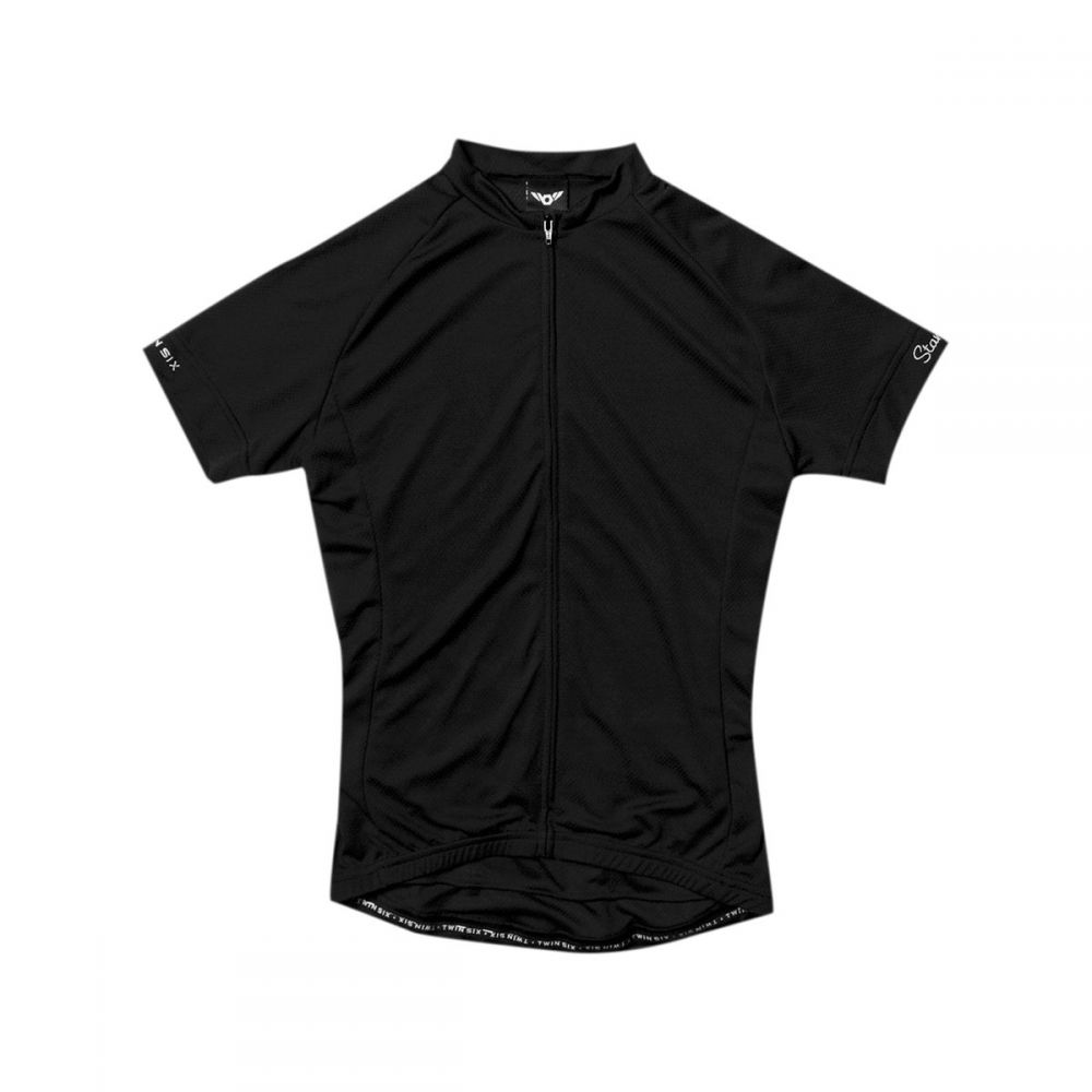 ツインシックス メンズ 自転車 トップス【Standard Short - Sleeve Jerseys】Black