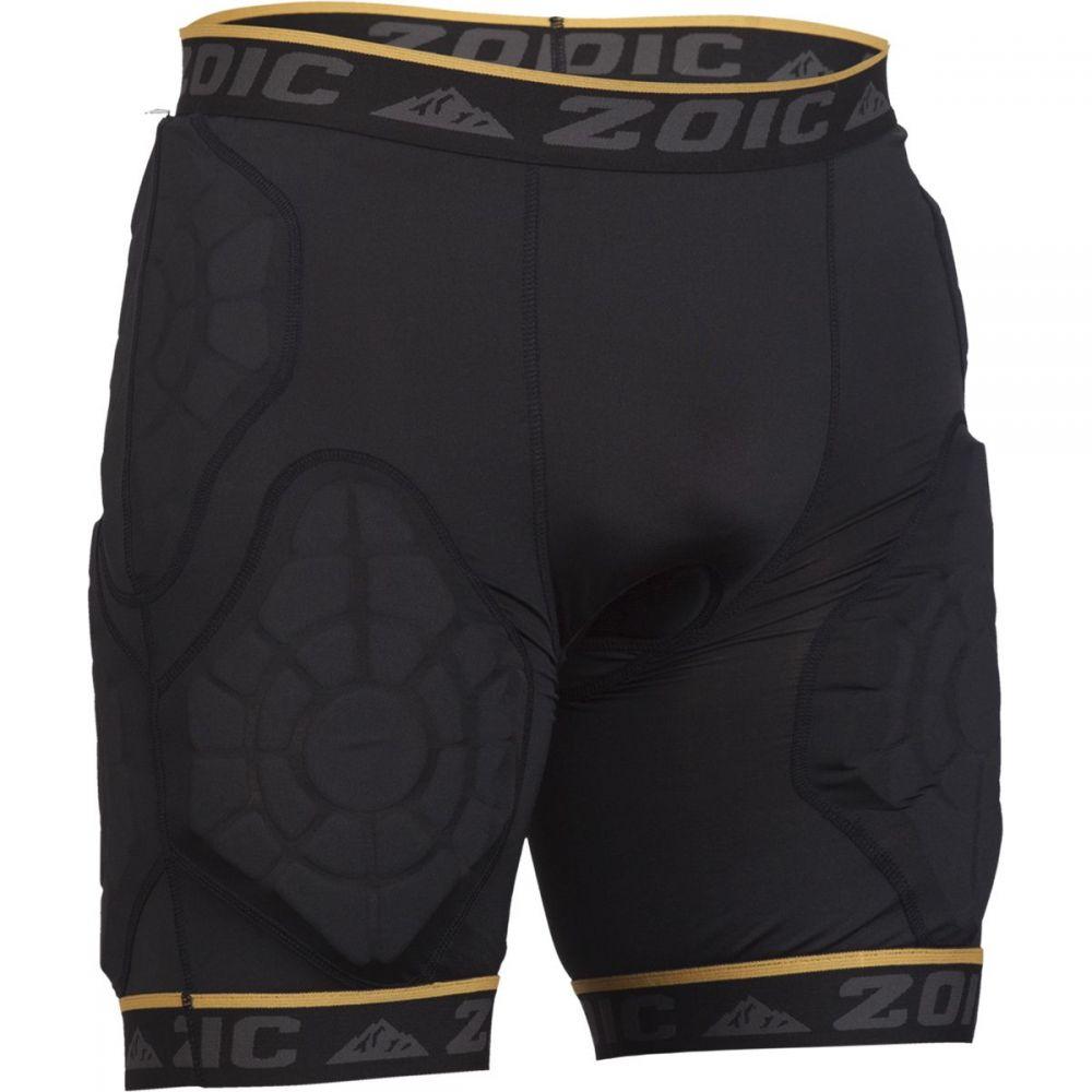 ゾイック メンズ 自転車 ボトムス・パンツ【Impact Liner Shorts】Black/Gold