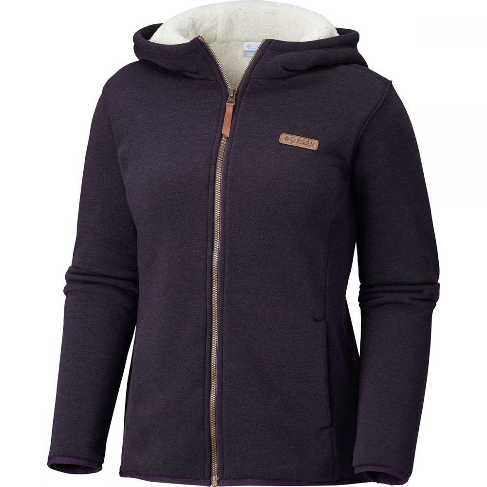 コロンビア レディース トップス フリース【Winter Wander Lined Full - Zip Jacket】Dark Plum Heather