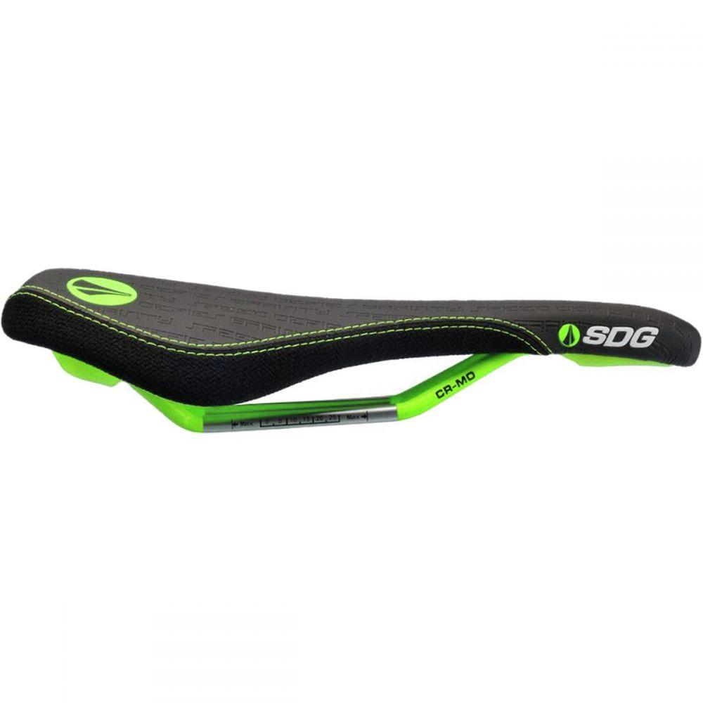 エスディジー コンポネント メンズ 自転車 サドル【Fly MTN Cro - Mo Limited Edition Saddles】Black/Neon Green