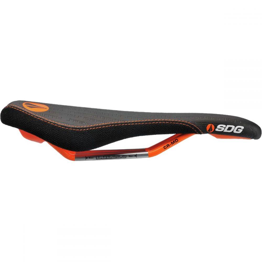 エスディジー コンポネント メンズ 自転車 サドル【Fly MTN Cro - Mo Limited Edition Saddles】Black/Neon Orange