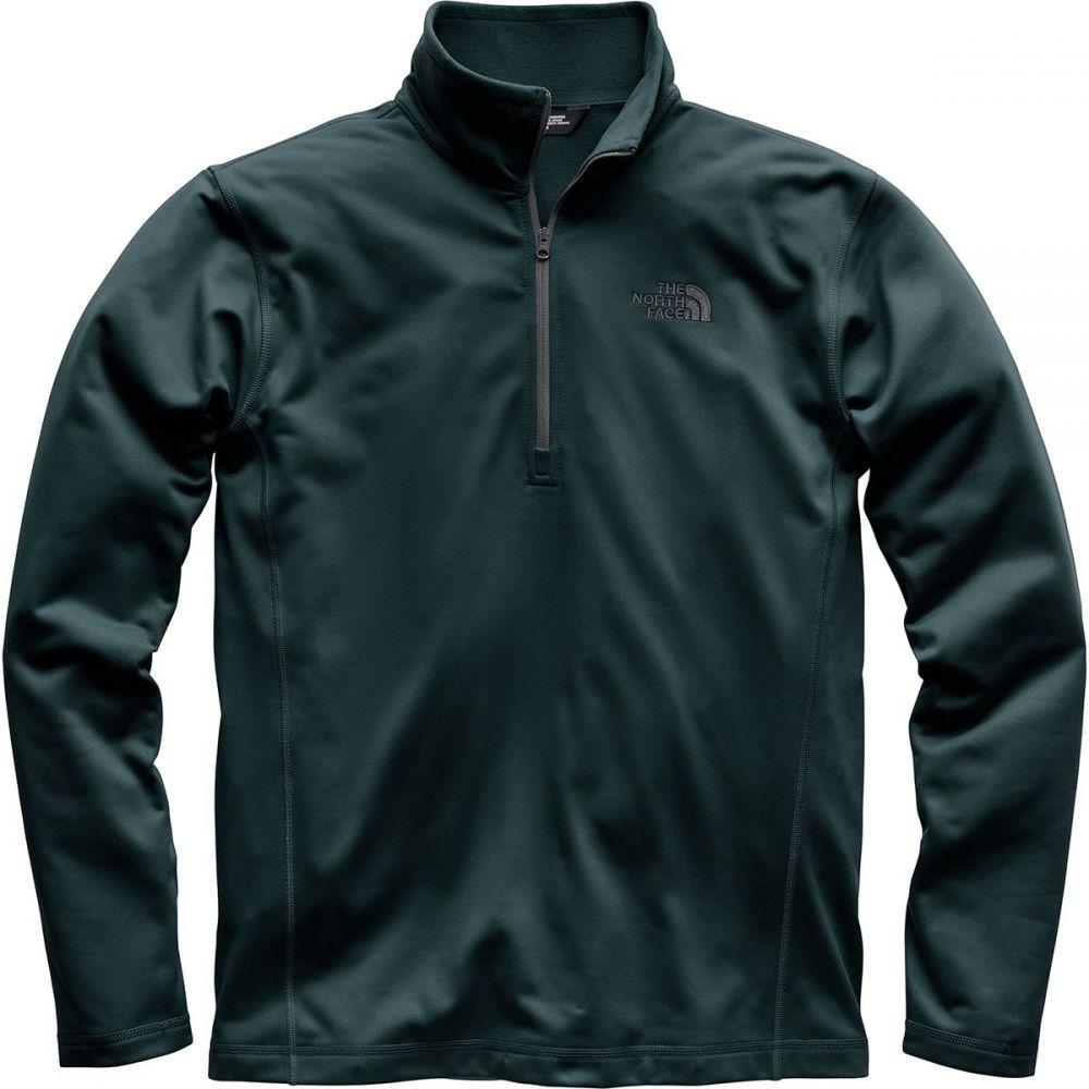 ザ ノースフェイス メンズ トップス フリース【Tech Glacier 1/4 - Zip Fleece Pullovers】Kodiak Blue