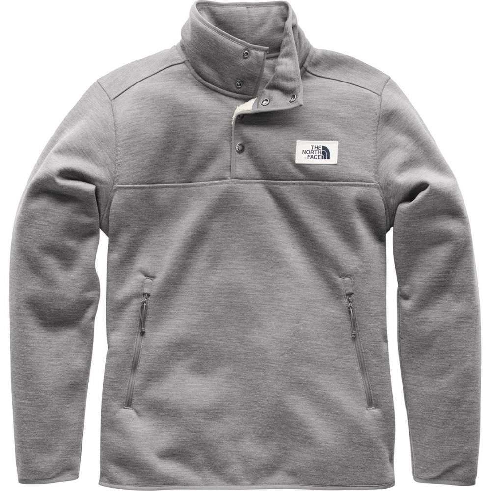 ザ ノースフェイス メンズ トップス フリース【Sherpa Patrol 1/4 - Snap Fleece Pullover Jackets】Tnf Medium Grey Heather