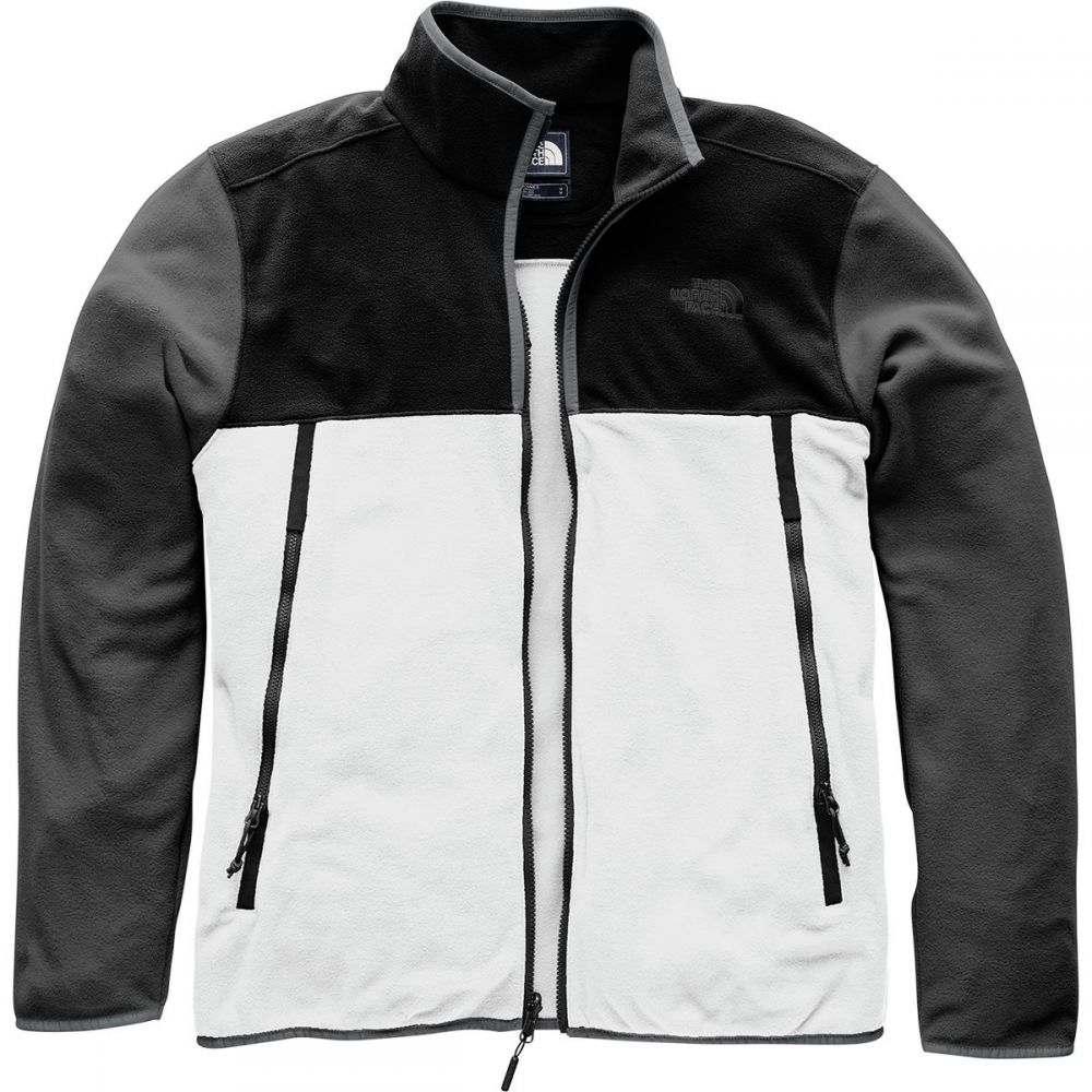 ザ ノースフェイス メンズ トップス フリース【Glacier Alpine Fleece Jackets】High Rise Grey/Tnf Black/Asphalt Grey