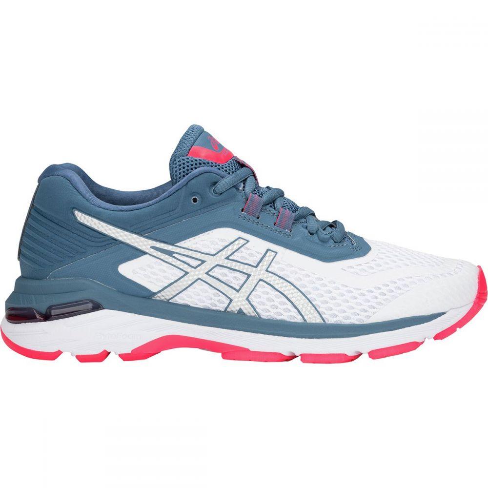 アシックス Asics レディース ランニング・ウォーキング シューズ・靴【GT - 2000 6 Running Shoe】White/Azure