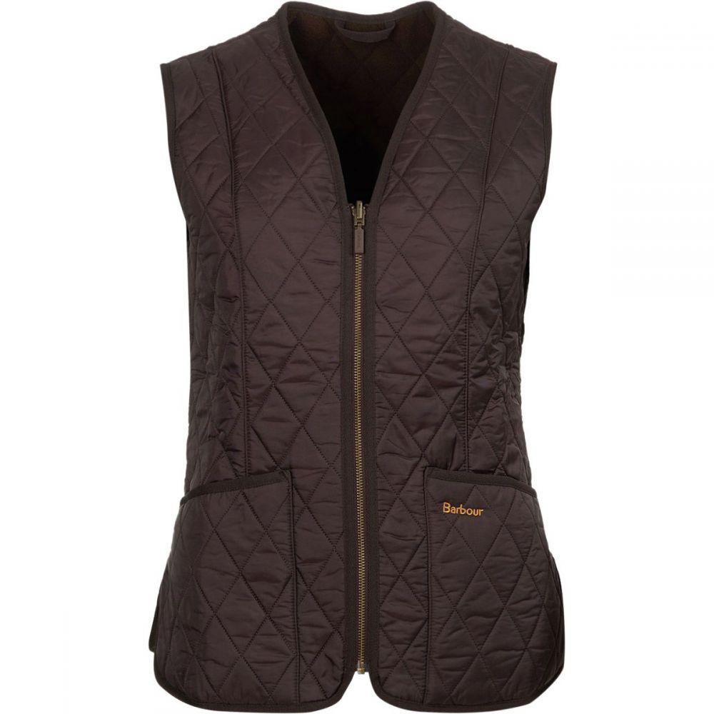 バーブァー Barbour レディース トップス ベスト・ジレ【Fleece Betty Liner Vest】Brown