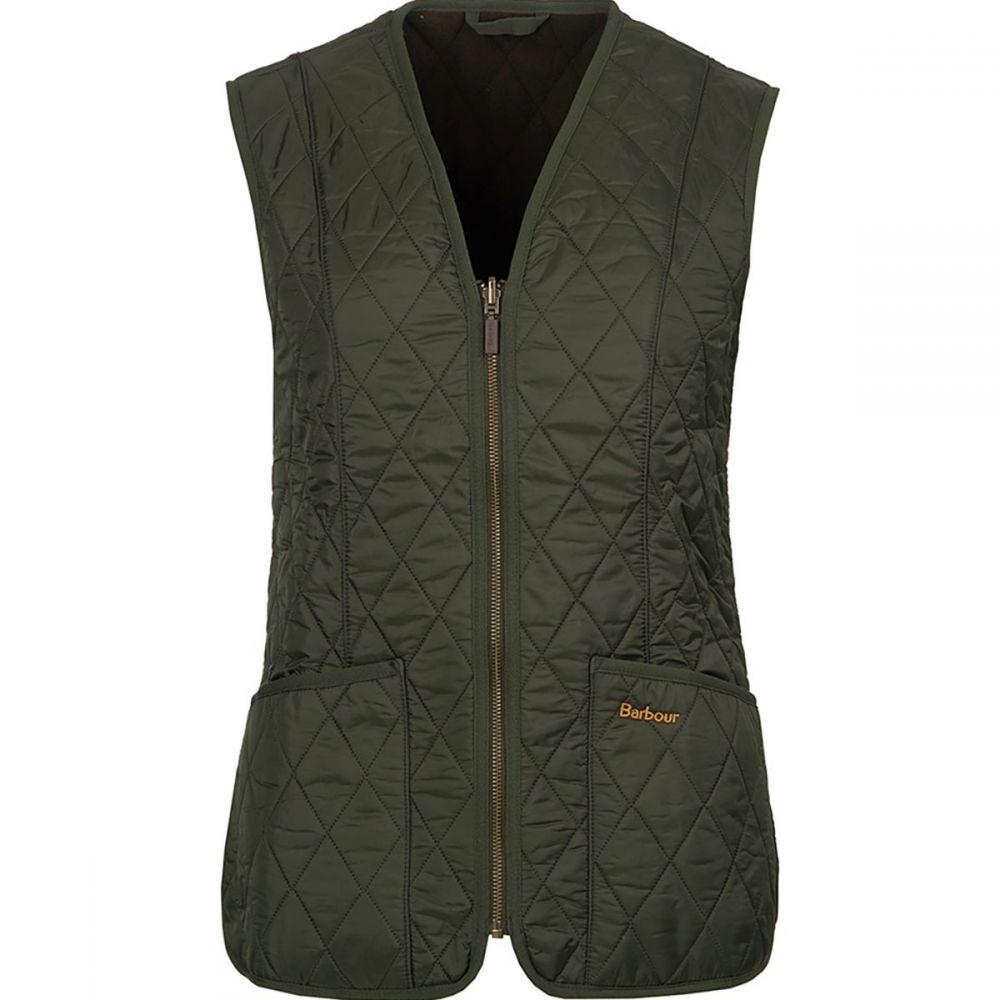 バーブァー Barbour レディース トップス ベスト・ジレ【Fleece Betty Liner Vest】Dark Olive