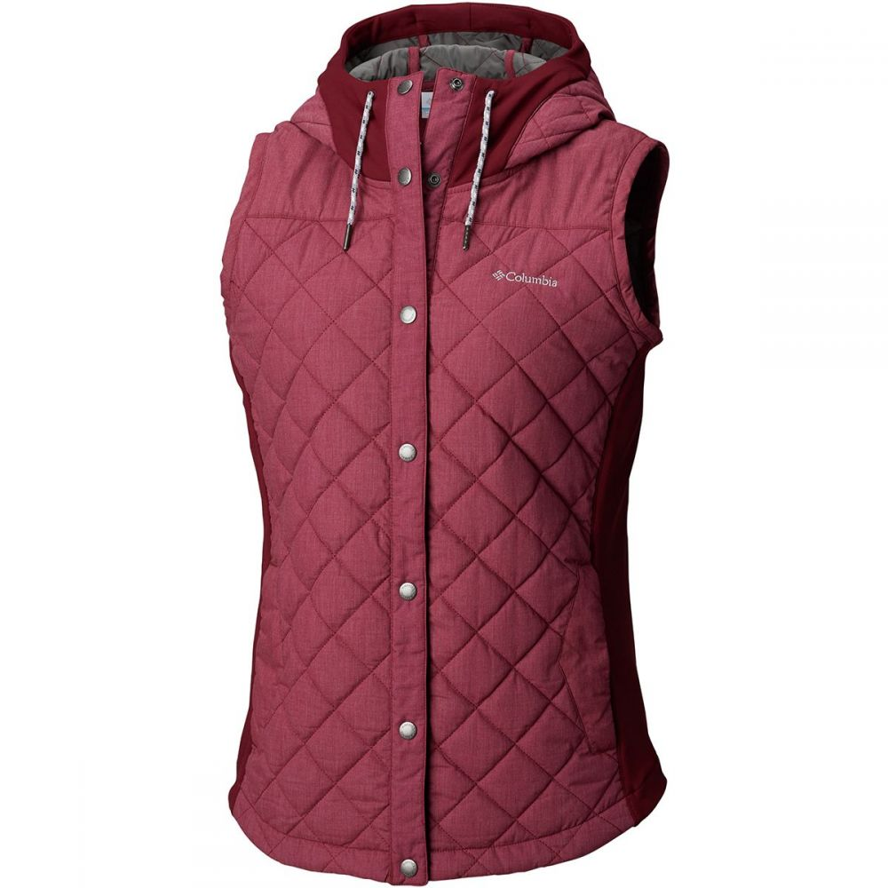 コロンビア Columbia レディース トップス ベスト・ジレ【Pilsner Peak Vest】Rich Wine Heather