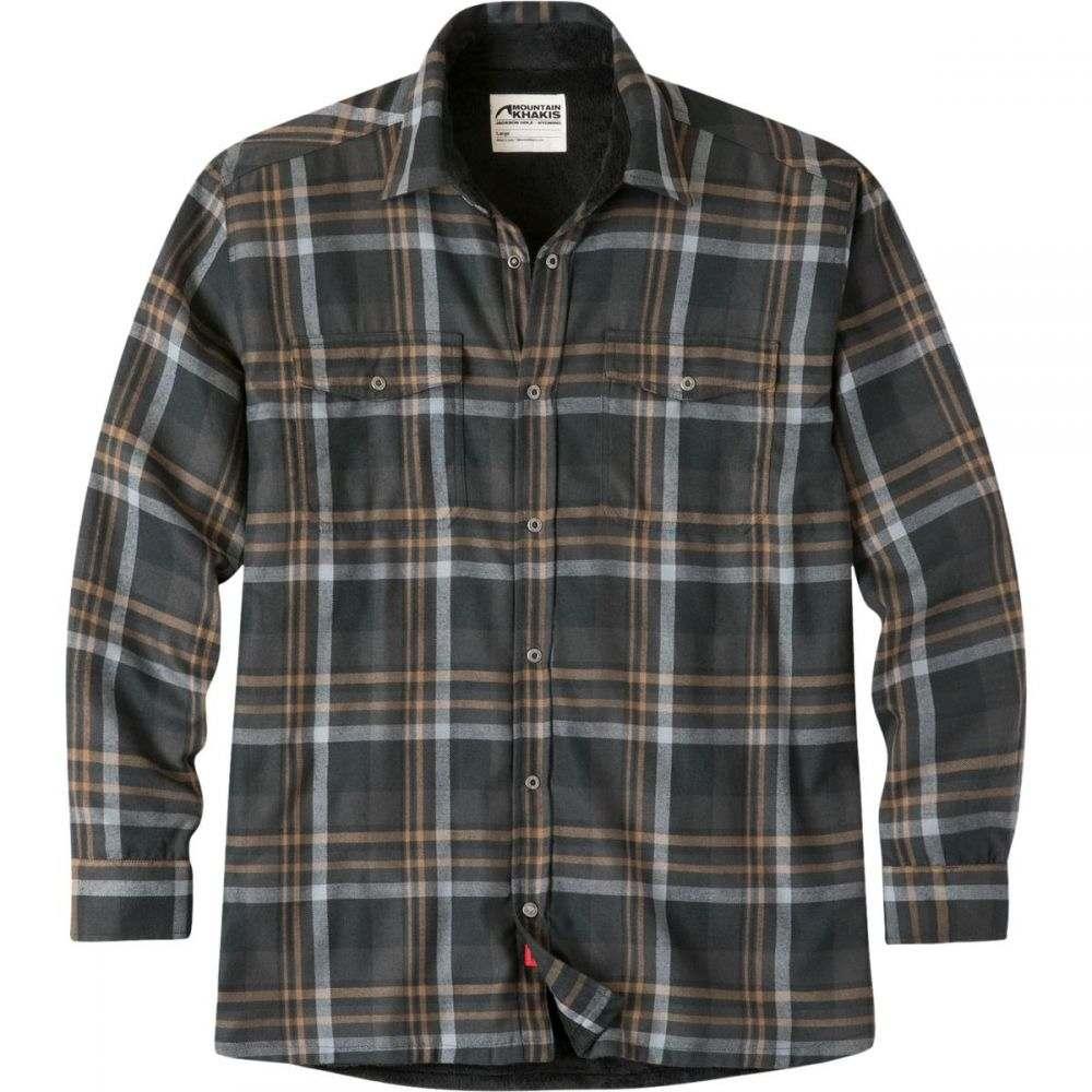 マウンテンカーキス Mountain Khakis メンズ トップス シャツ【Christopher Fleece Lined Shirts】Black Plaid