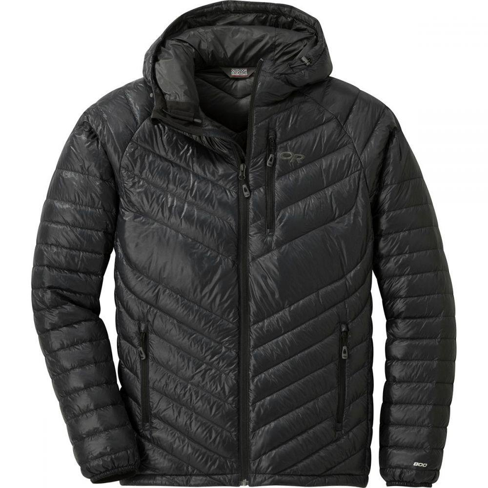 アウトドアリサーチ Outdoor Research メンズ アウター ダウン・中綿ジャケット【Illuminate Down Hooded Jackets】Black