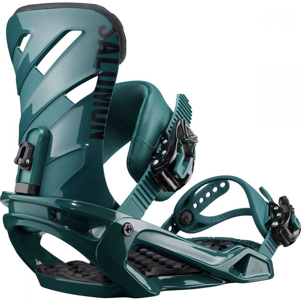 『3年保証』 サロモン Salomon Snowboards レディース スキー・スノーボード Snowboard ビンディング Binding】Dark Salomon【Rhythm Snowboard Binding】Dark Teal, Xys Designers club:b33a9722 --- canoncity.azurewebsites.net