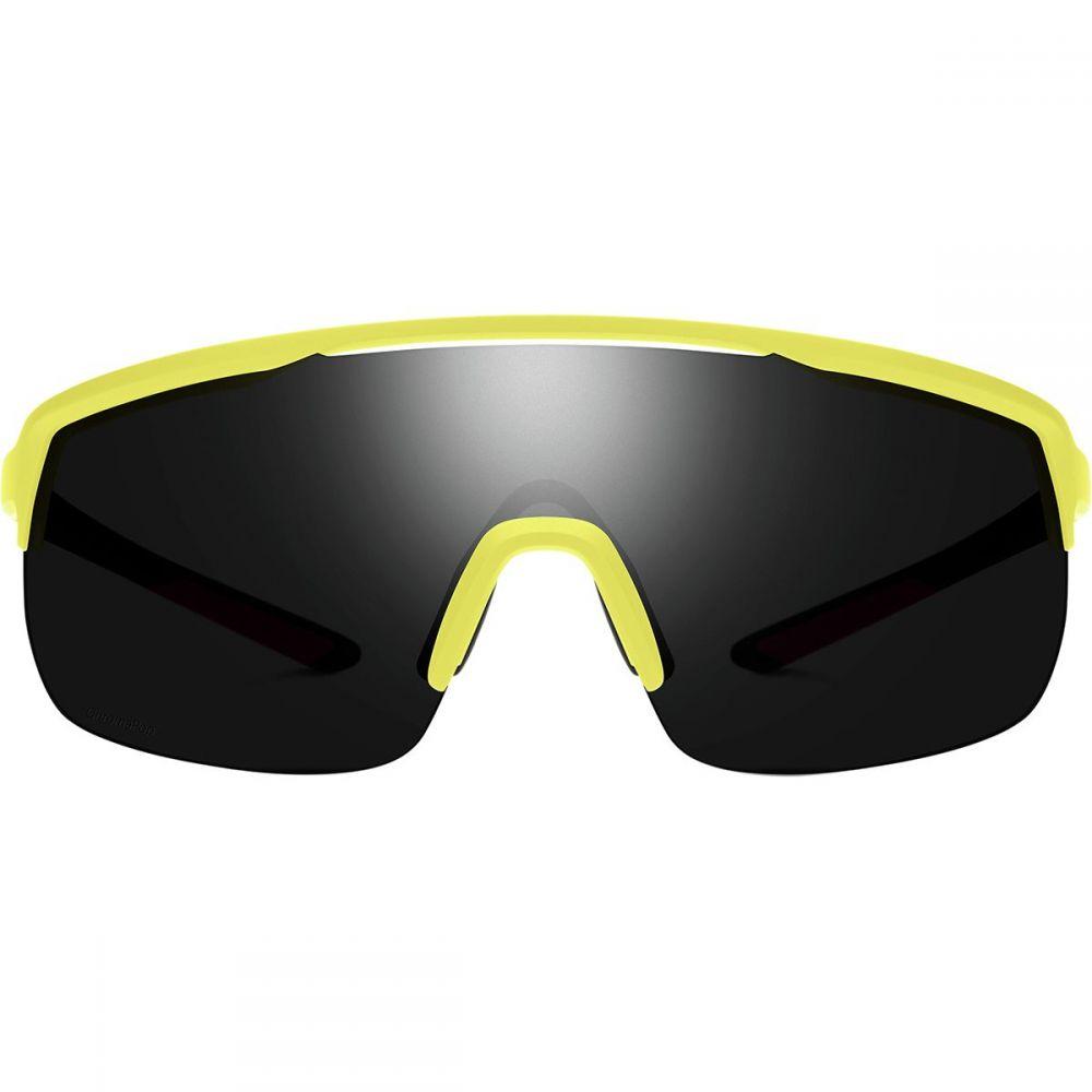 スミス Citron/Sun Smith Smith レディース スポーツサングラス【Trackstand Chromapop Sunglasses】Matte スミス Citron/Sun Black, 日之出工業:089373ab --- jpworks.be