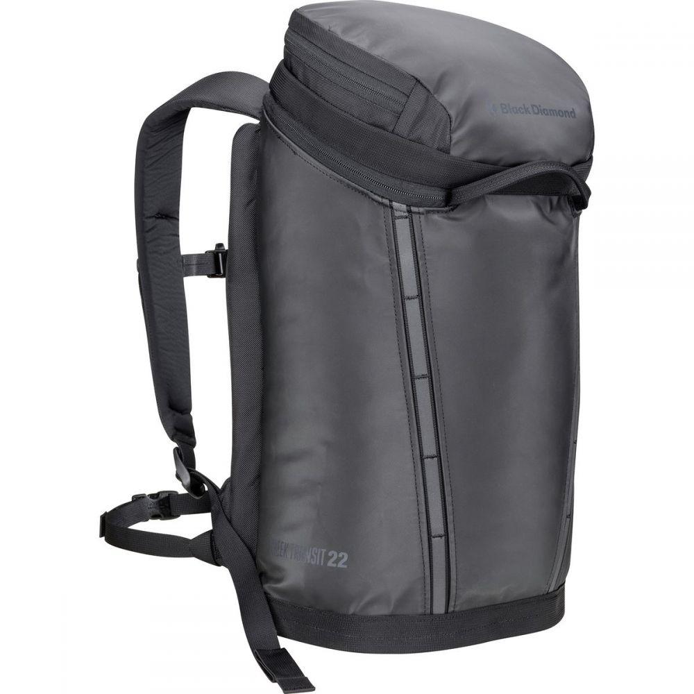 ブラックダイヤモンド Black Diamond メンズ バッグ バックパック・リュック【Creek Transit 22L Backpack】Black