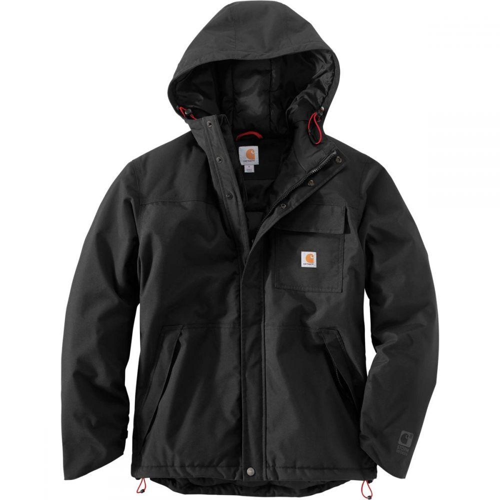 カーハート Carhartt メンズ アウター レインコート【Insulated Shoreline Jackets】Black
