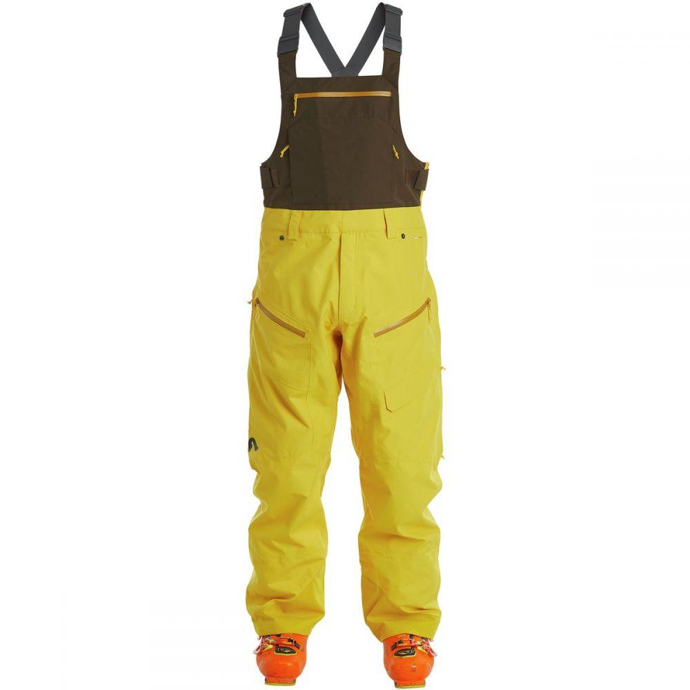 フライロウ Flylow メンズ スキー・スノーボード ボトムス・パンツ【Firebird Bib Pants】Fernet/Crookneck