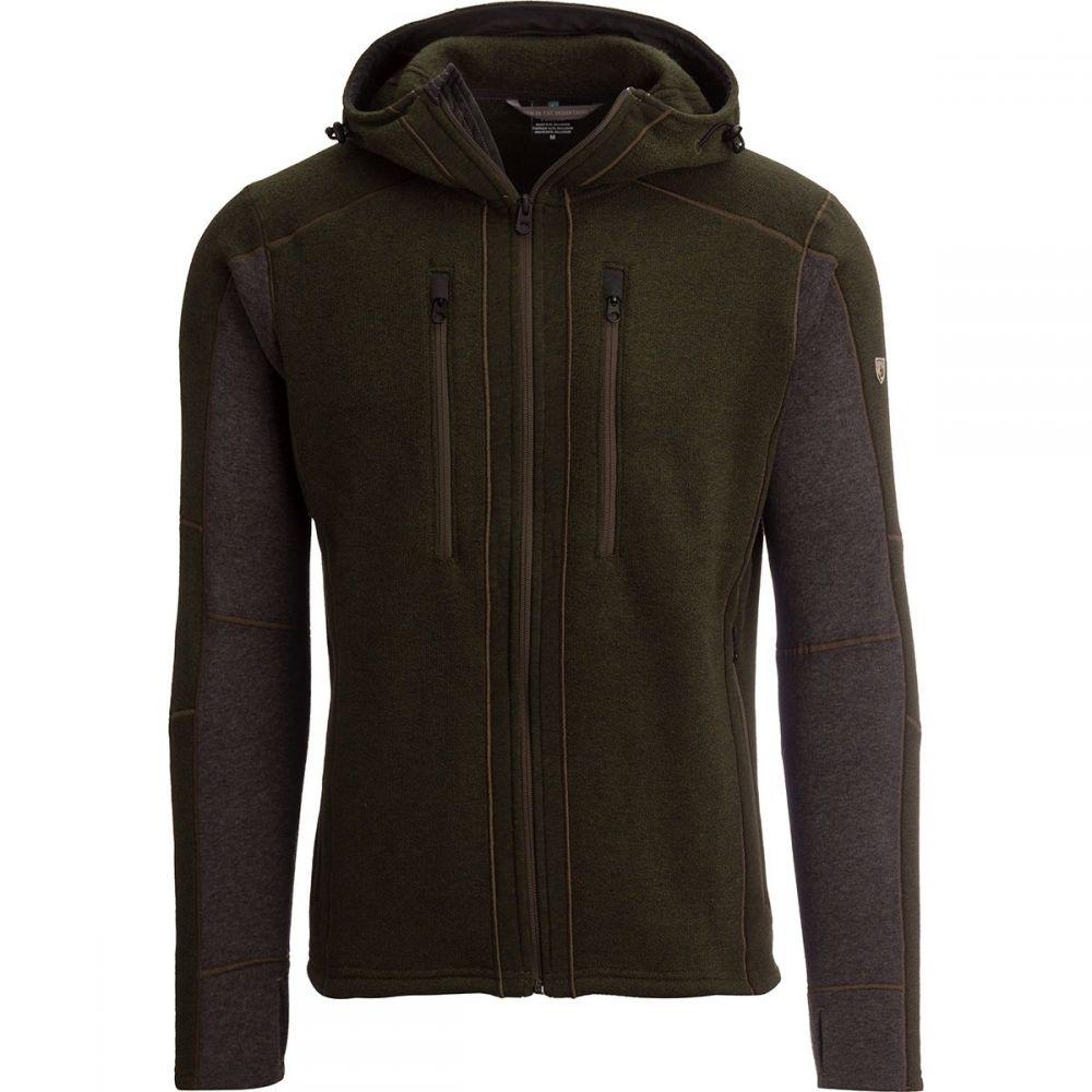 キュール KUHL メンズ トップス フリース【Interceptr Hooded Fleece Jackets】Loden/Steel