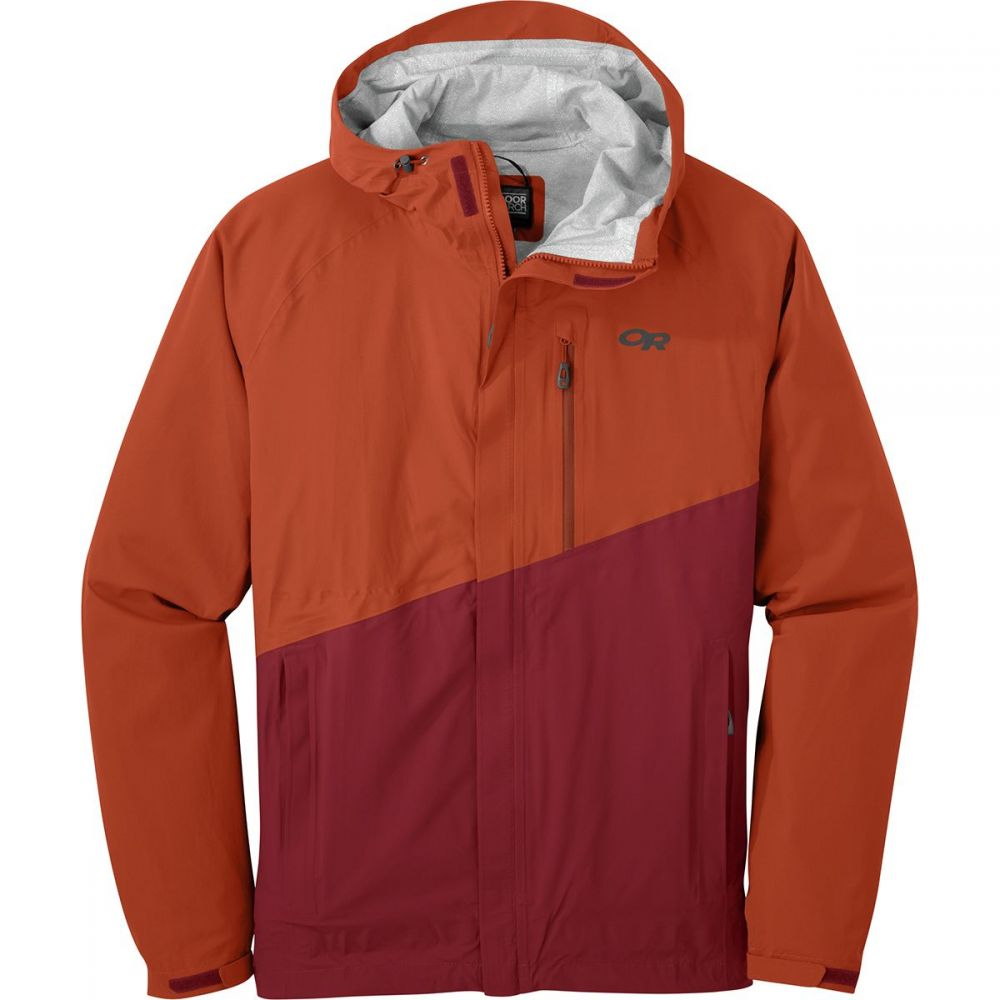 アウトドアリサーチ Outdoor Research メンズ アウター レインコート【Panorama Point Jackets】Burnt Orange/Firebrick