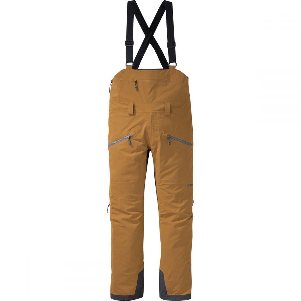 アウトドアリサーチ Outdoor Research メンズ スキー・スノーボード ボトムス・パンツ【Hemispheres Bib Pants】Ochre