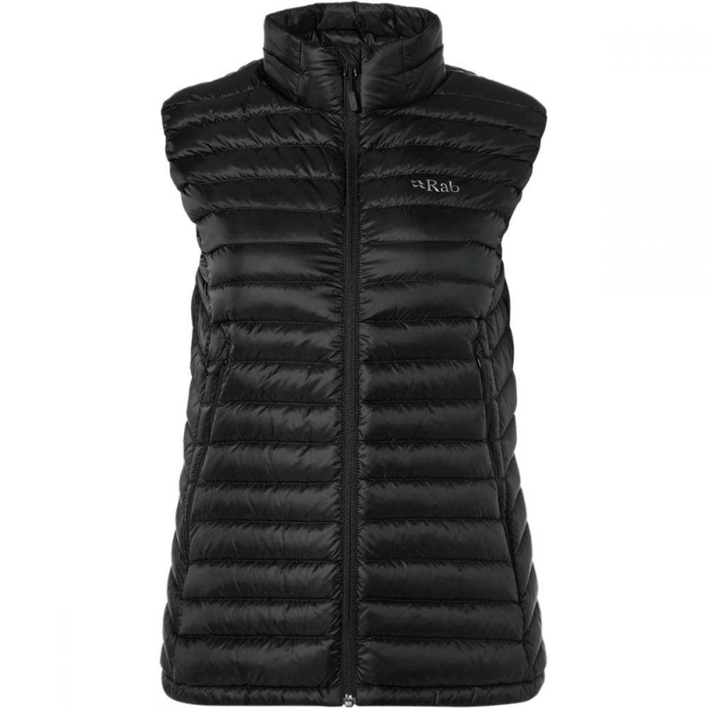 ラブ Rab レディース トップス ベスト・ジレ【Microlight Down Vest】Black/Seaglass