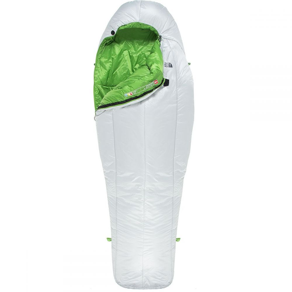 ザ ノースフェイス The North Face レディース ハイキング・登山【Guide 0 Sleeping Bag - 0 Degree Synthetic】High Rise Grey/Adder Green