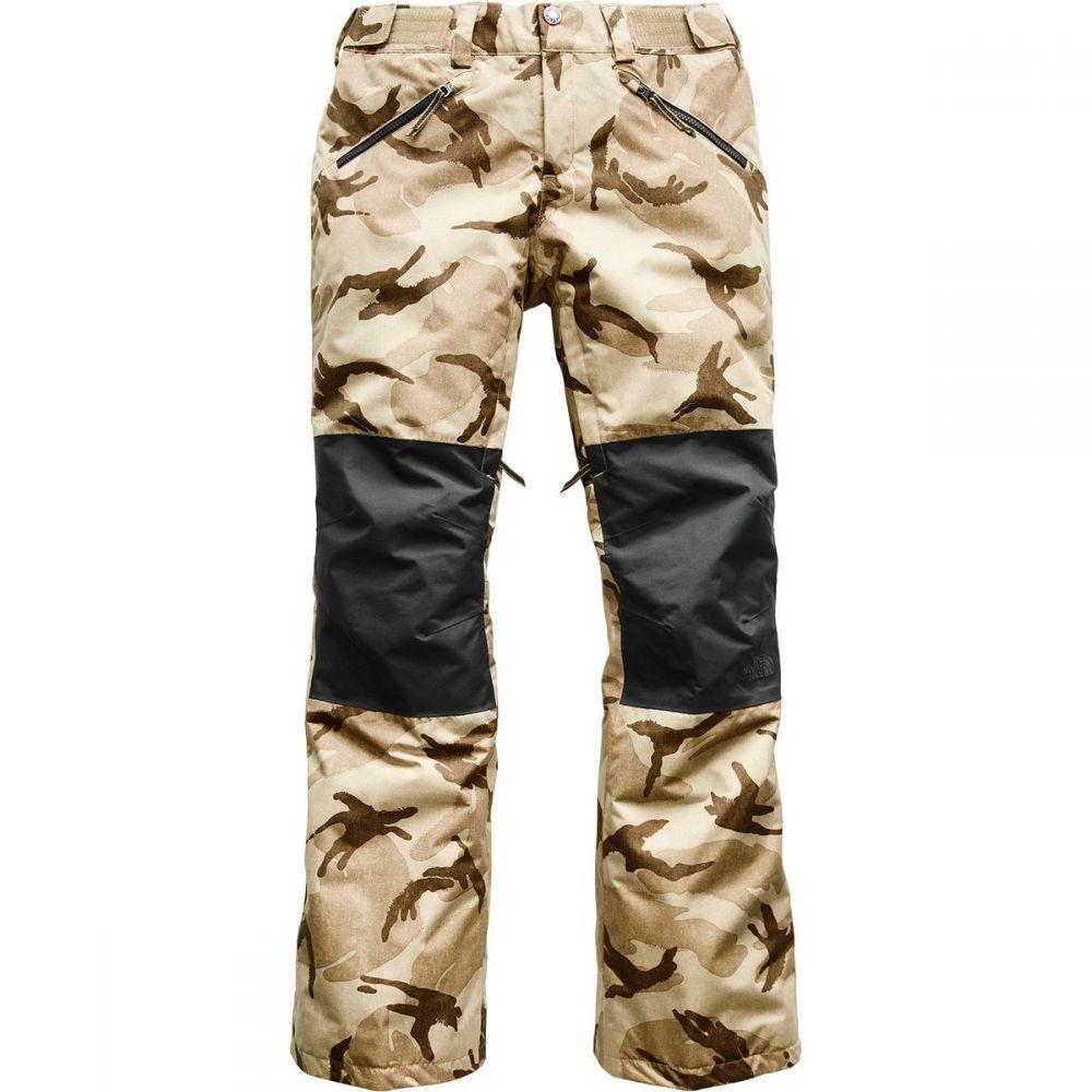 ザ ノースフェイス The North Face レディース スキー・スノーボード ボトムス・パンツ【Aboutaday Pant】Kelp Tan Dpm Print/Tnf Black