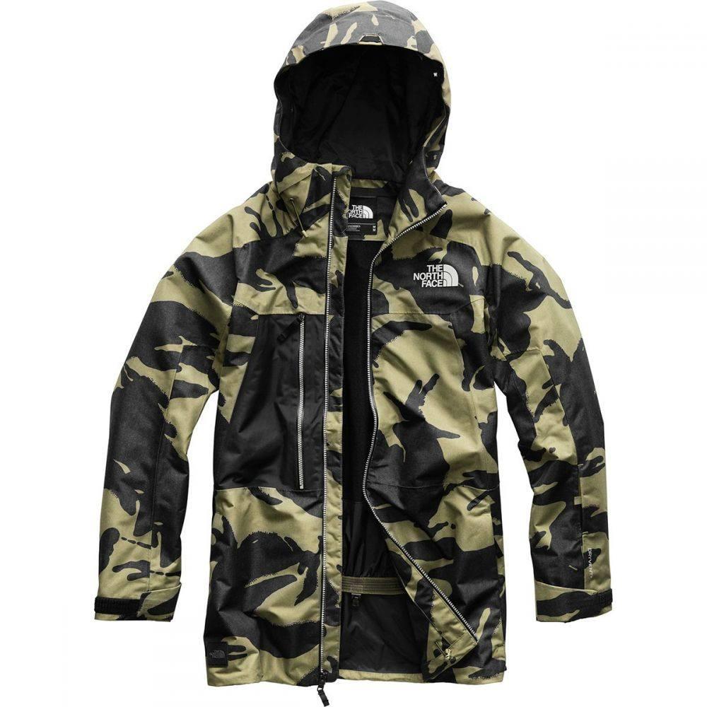 ザ ノースフェイス The North Face メンズ スキー・スノーボード アウター【Repko Hooded Jackets】Burnt Olive Green/Tnf Black