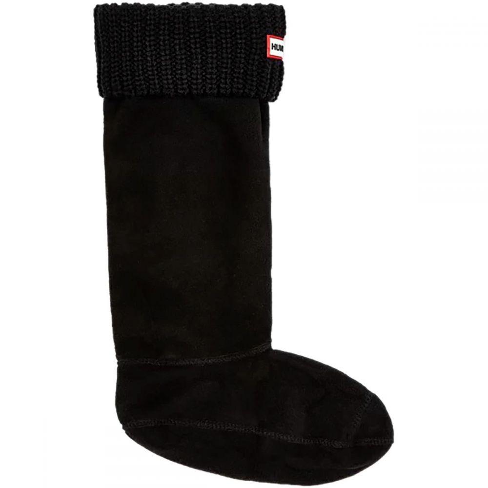 ハンター Hunter レディース インナー・下着 ソックス【Original Half Cardigan - Stitch Boot Sock】Black