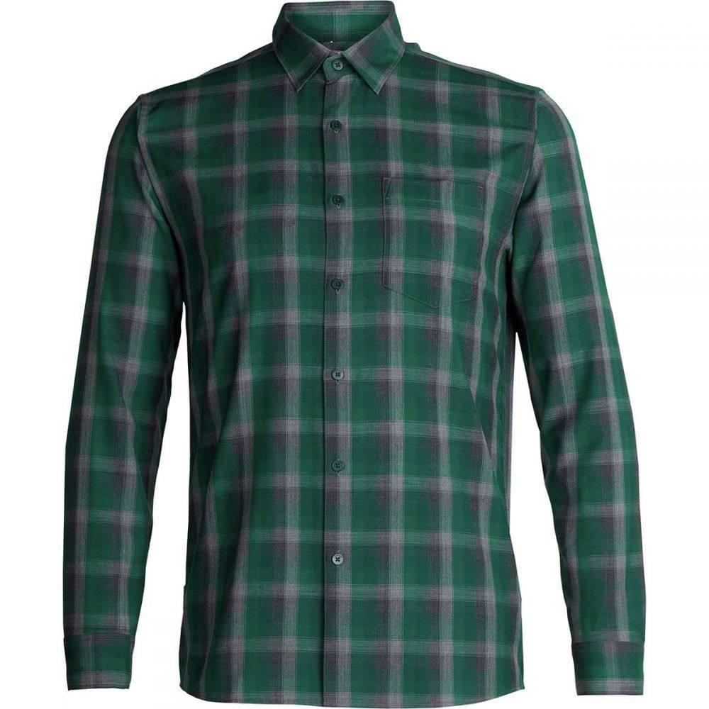 アイスブレーカー Icebreaker メンズ トップス シャツ【Departure Long - Sleeve Shirts】Dark Pine/Bottle/Plaid