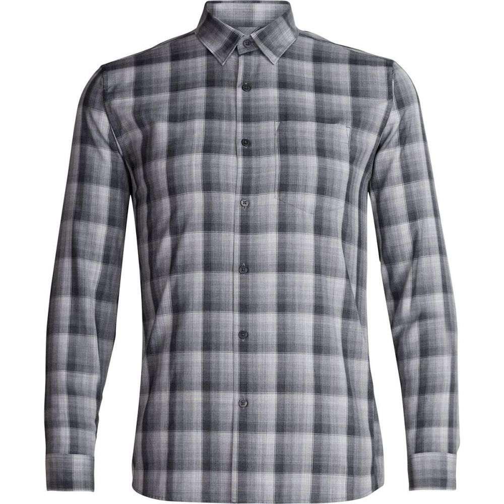 アイスブレーカー Icebreaker メンズ トップス シャツ【Departure Long - Sleeve Shirts】Jet Heather/Gritstone Heather/Plaid