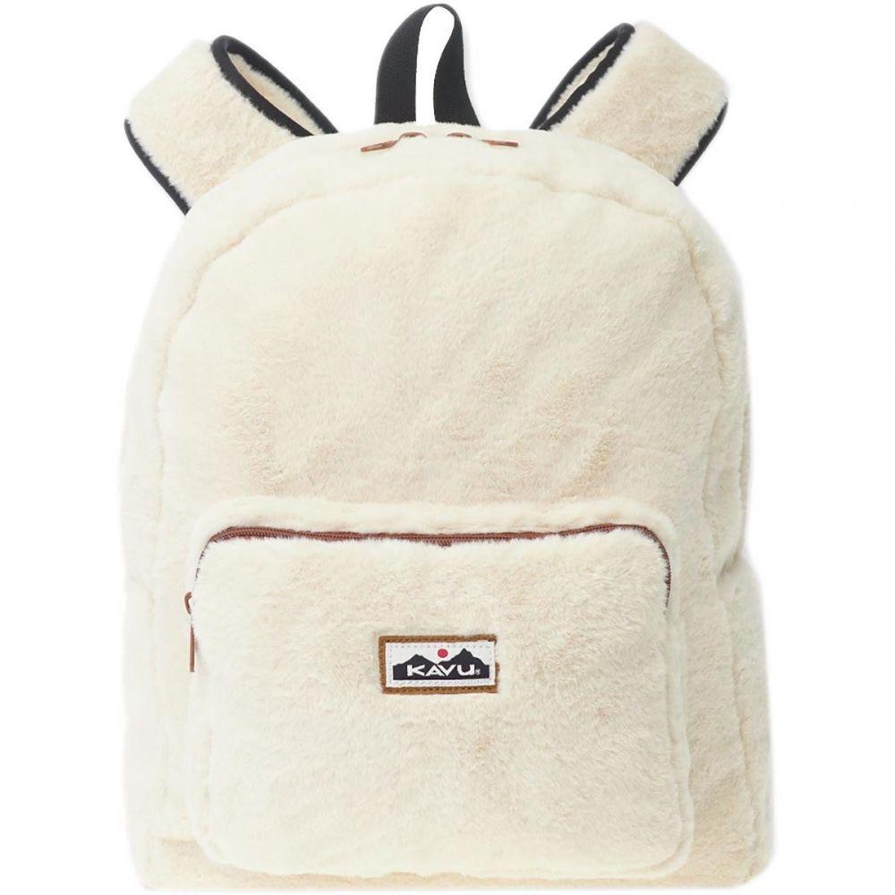 カブー KAVU レディース バッグ バックパック・リュック【Fuzzington 18L Backpack】Natural
