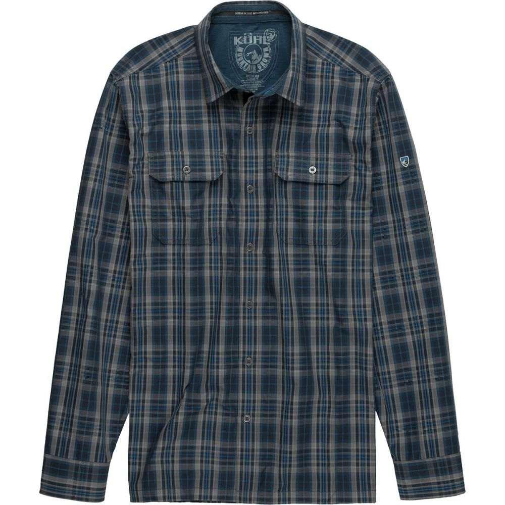 キュール KUHL メンズ トップス シャツ【Response Shirt - Long - Sleeves】Blue Charcoal