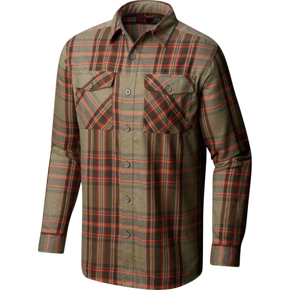 マウンテンハードウェア Mountain Hardwear メンズ トップス シャツ【Trekkin Flannel Shirts】Darklands