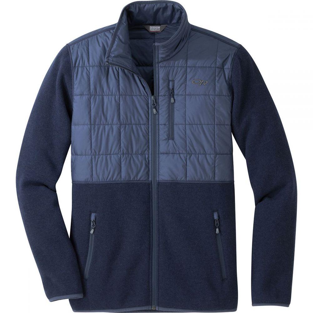 アウトドアリサーチ Outdoor Research メンズ トップス フリース【Vashon Hybrid Full - Zip Jackets】Naval Blue