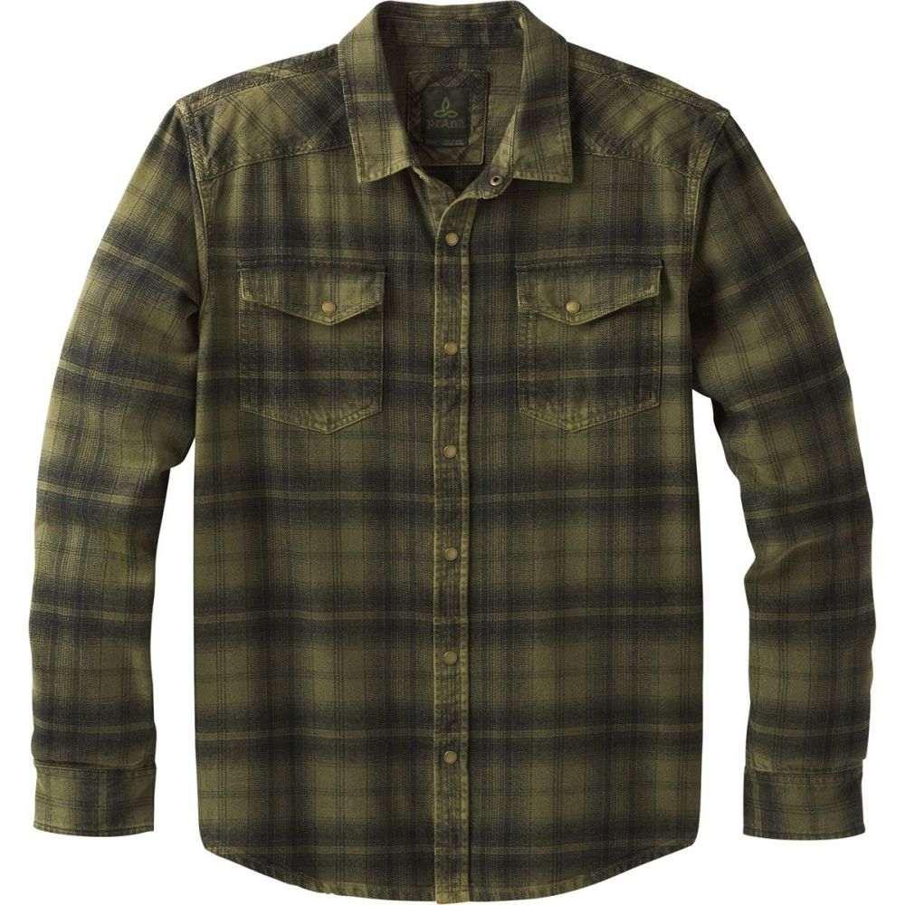 プラーナ Prana メンズ トップス シャツ【Horizon Flannel Shirts】Cargo Green