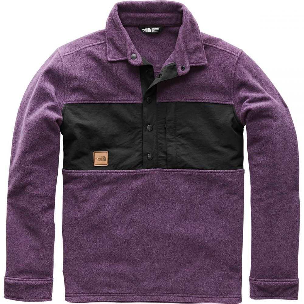 ザ ノースフェイス The North Face メンズ トップス フリース【x Vans Davenport Pullover Jackets】Black Currant Purple Heather