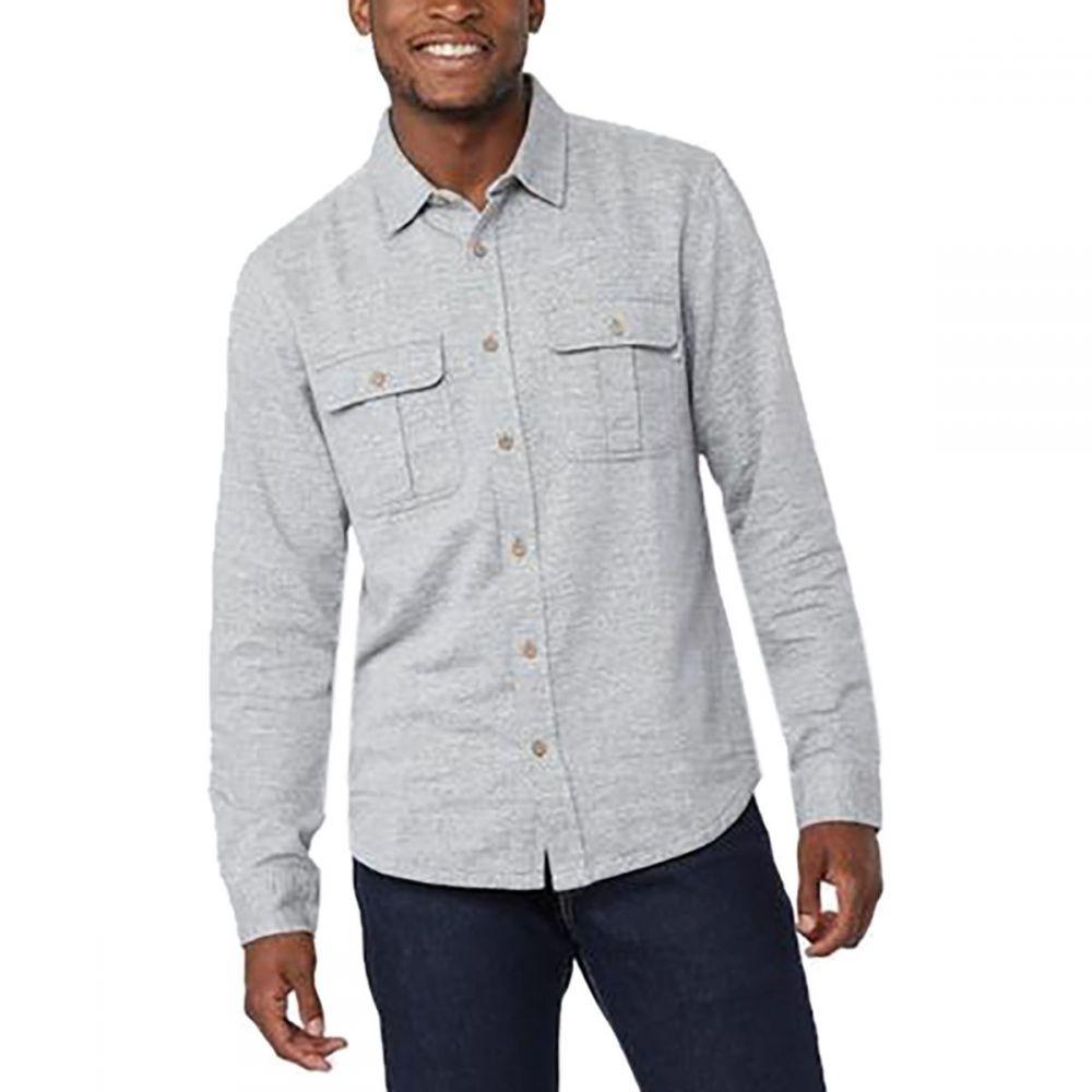 テンツリー Tentree メンズ トップス シャツ【Arthur Long - Sleeve Flannel Shirts】Lunar Rock