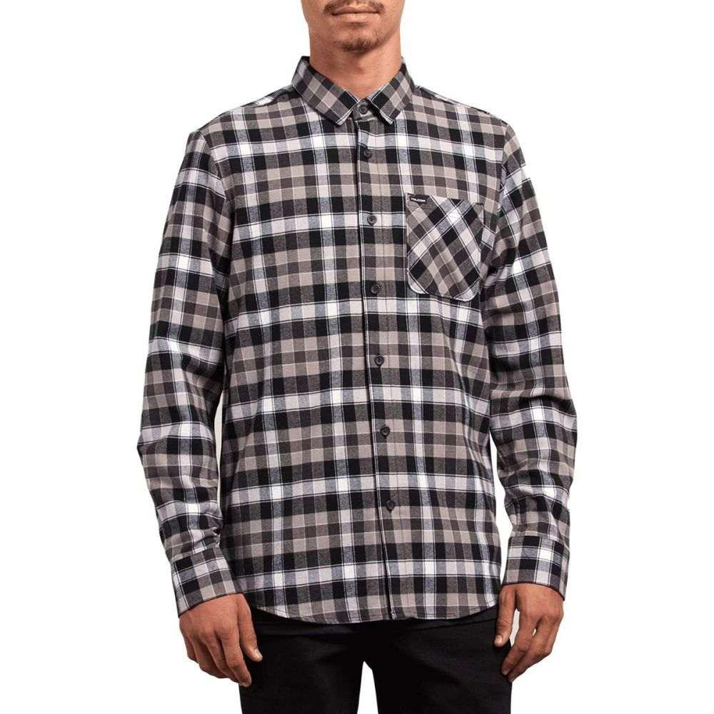 ボルコム Volcom メンズ トップス シャツ【Caden Plaid Shirts】Black