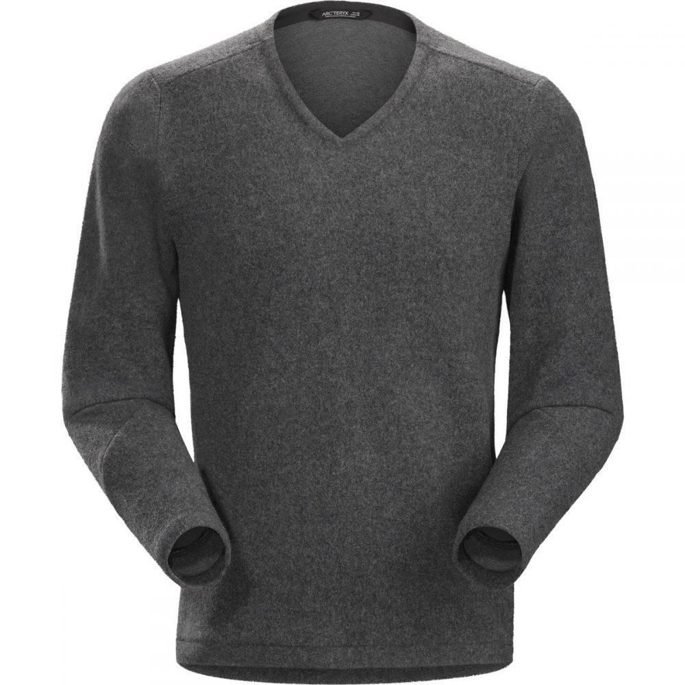 アークテリクス Arc'teryx メンズ トップス ニット・セーター【Donavan V - Neck Sweaters】Dark Grey Heather