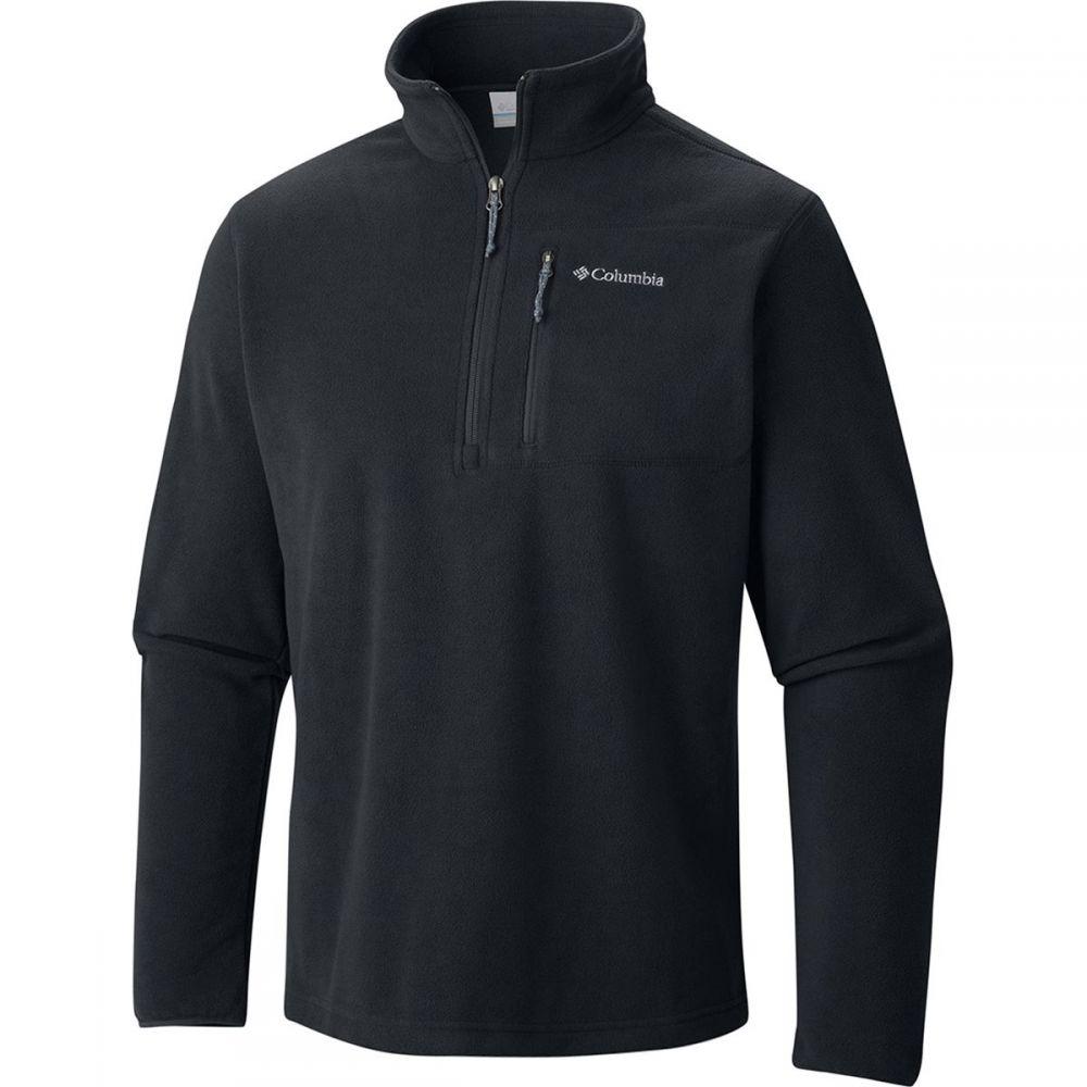 コロンビア Columbia メンズ トップス フリース【Cascades Explorer Half - Zip Fleece Jackets】Black