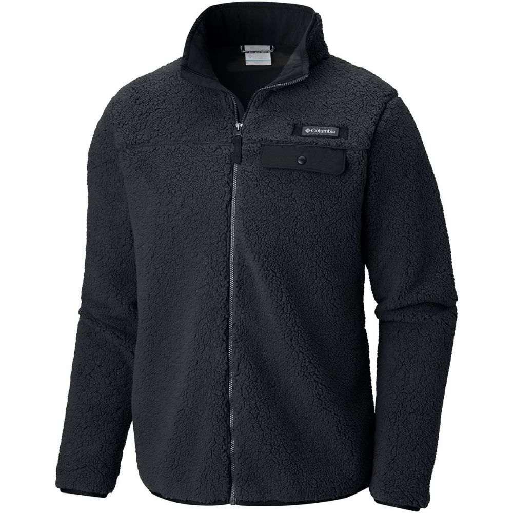 コロンビア Columbia メンズ トップス フリース【Mountain Side Heavyweight Fleece Full - Zip Jackets】Black