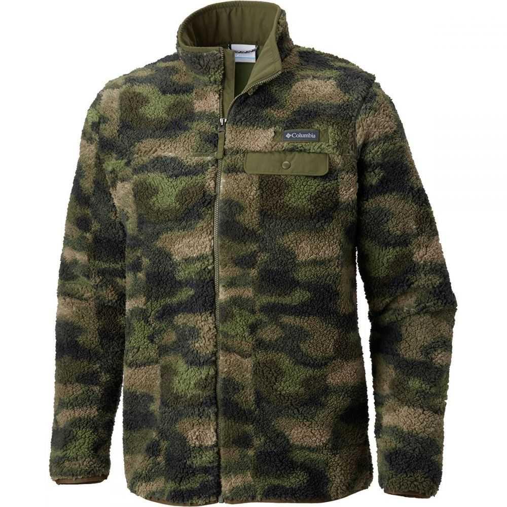 コロンビア Columbia メンズ トップス フリース【Mountain Side Heavyweight Fleece Full - Zip Jackets】Peatmoss Camo