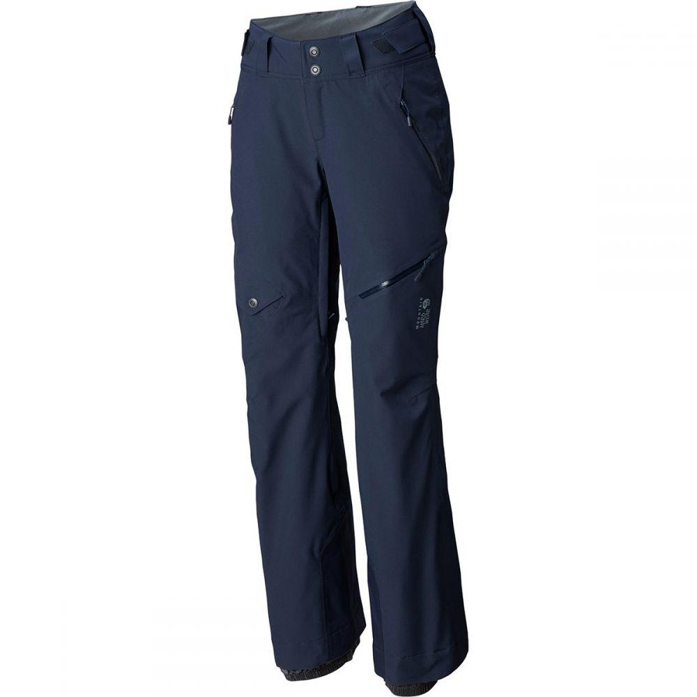 マウンテンハードウェア Mountain Hardwear レディース スキー・スノーボード ボトムス・パンツ【Chute Insulated Pant】Dark Zinc