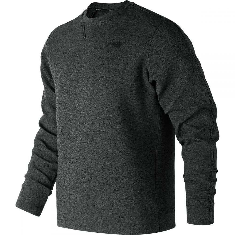 ニューバランス New Balance メンズ トップス 長袖Tシャツ【247 Luxe Crew Shirts】Black