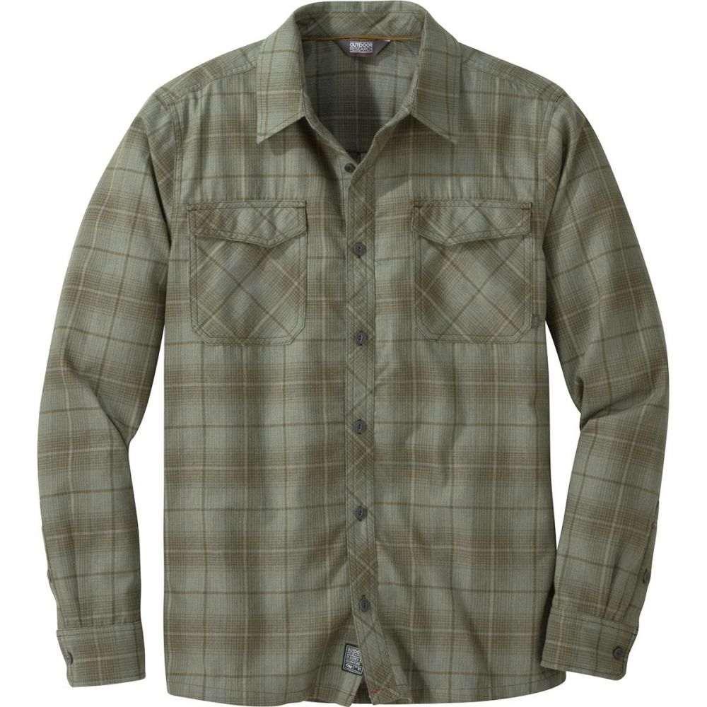 アウトドアリサーチ Outdoor Research メンズ トップス シャツ【Tangent II Long - Sleeve Flannel Shirts】Juniper